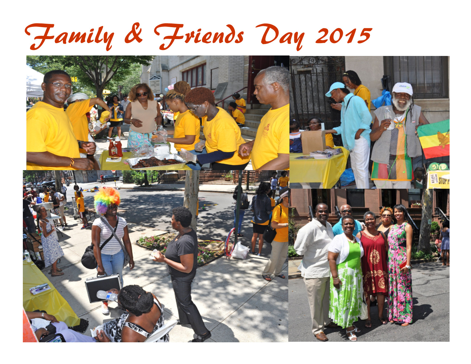 Family and Friends