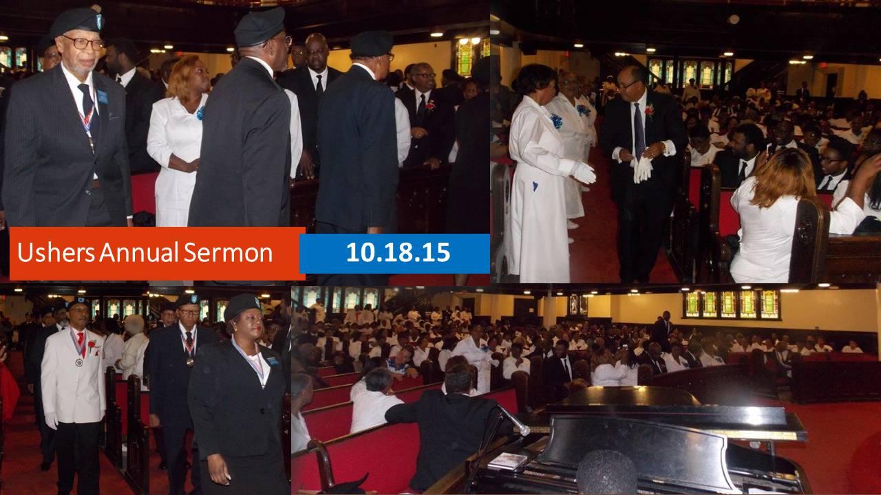 Ushers Annual Sermon